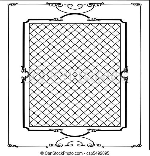 vector frame  - csp5492095