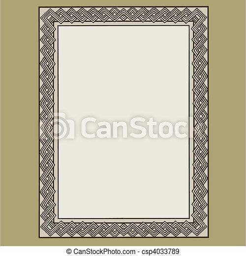 Vector Frame - csp4033789
