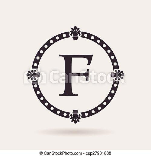 Vector frames design templates. vintage labels and badges for logo ...