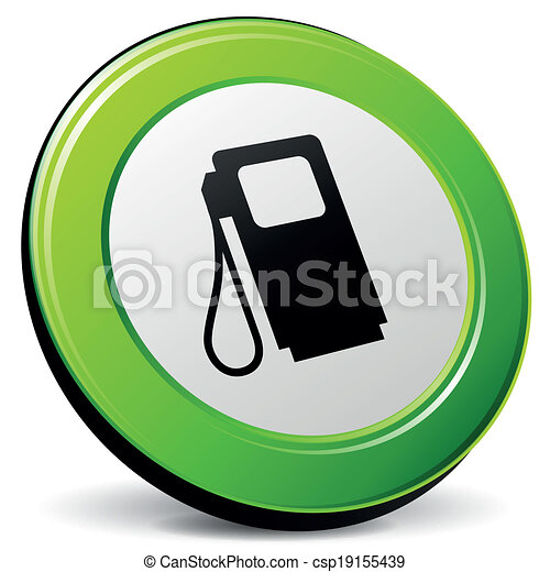 Vector fuel 3d icon - csp19155439