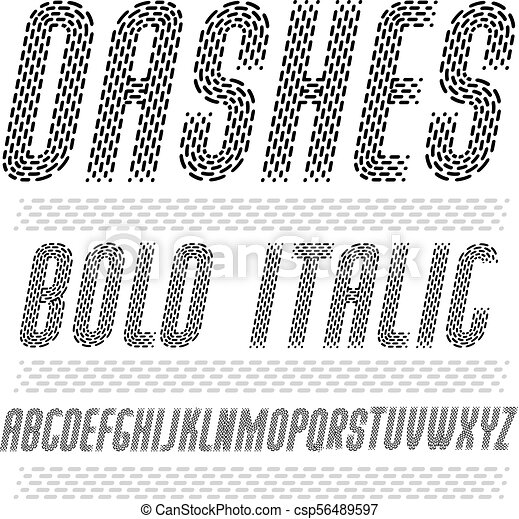Vector funky condensed capital English alphabet letters collection  Rounded  bold italic retro type font, script from a to z can be used for logo