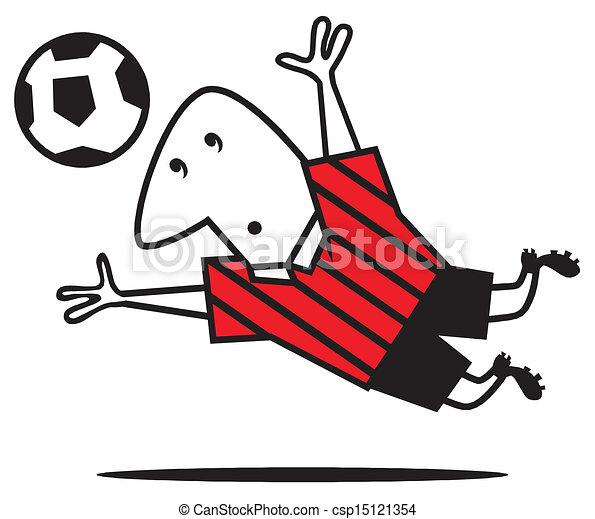 Futbol vector - csp15121354