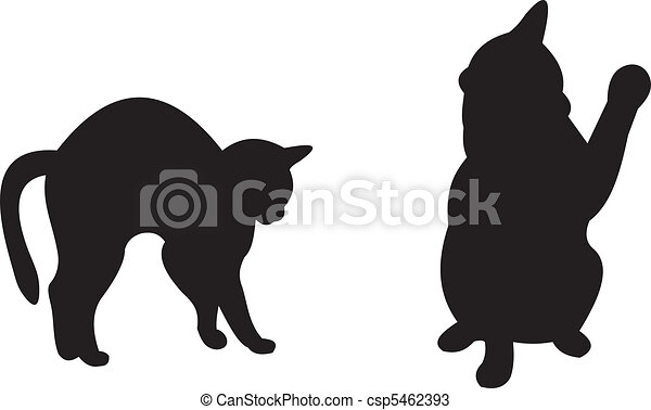 Vector de gatos - csp5462393