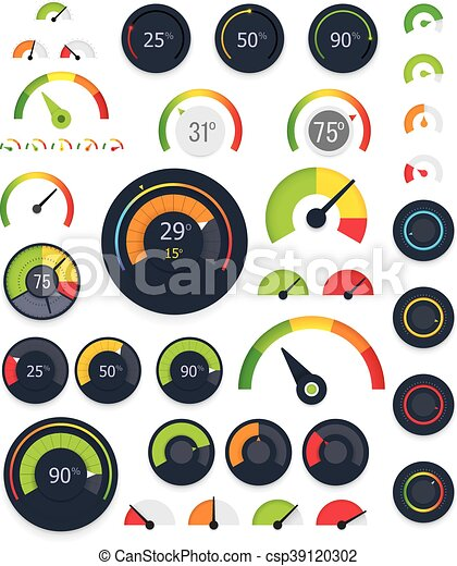 Vector gauges set - csp39120302