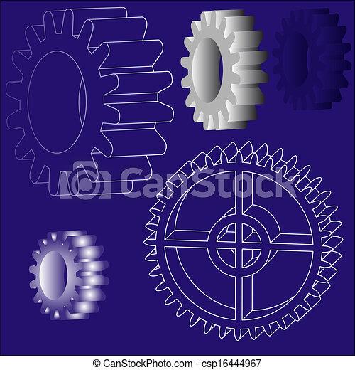 vector gears - csp16444967