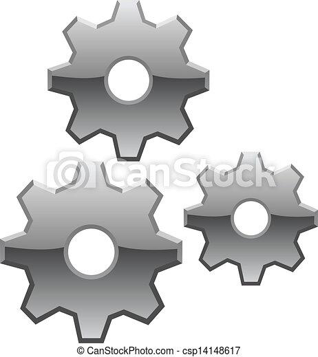 Vector Gears  - csp14148617