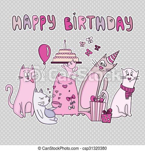 Afbeeldingen Verjaardag Kat
