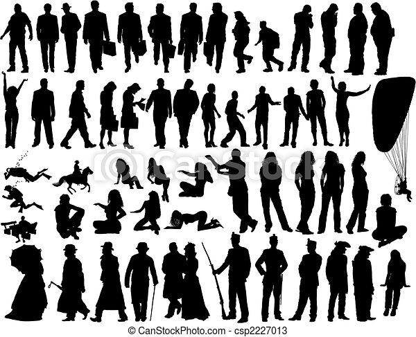 Gente del vector - csp2227013
