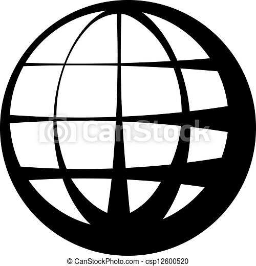 vector globe black symbol vector illustration search clipart rh canstockphoto com vector global wealth management vector global logistics tracking