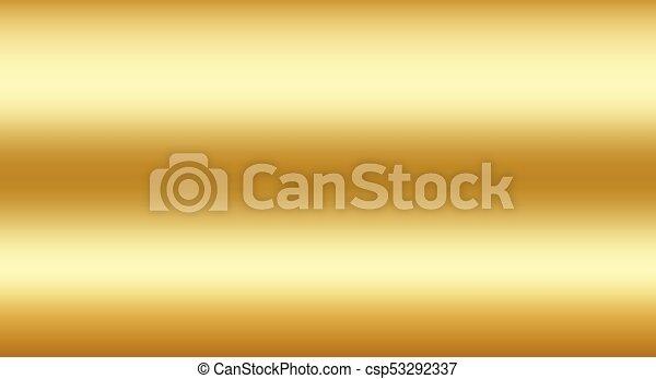vector gold gradient texture realistic metallic shine background