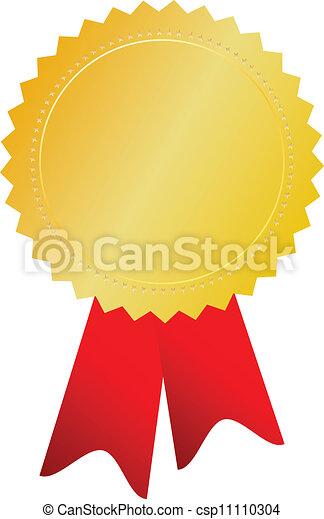 Vector gold medal - csp11110304