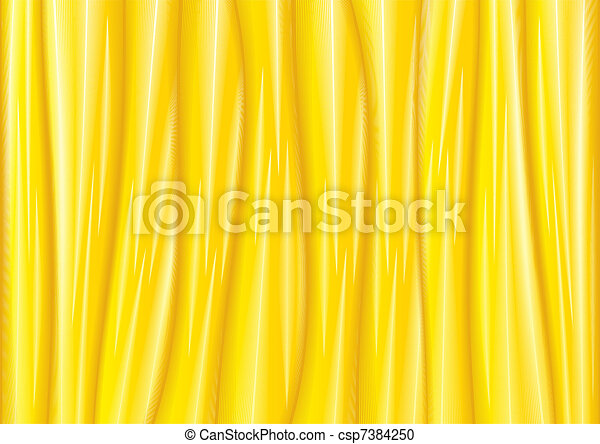 Vector Golden Satin Textile Background - csp7384250