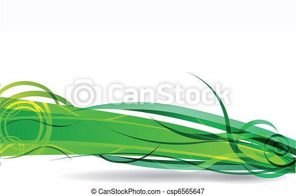 vector green background - csp6565647