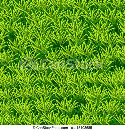 Vector green grass - csp15103685