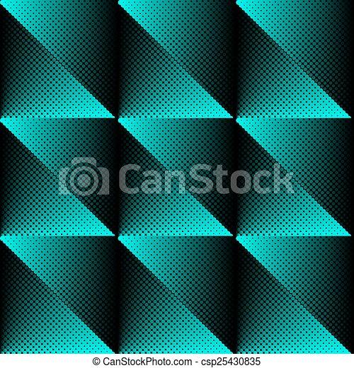 Vector halftone texture - csp25430835
