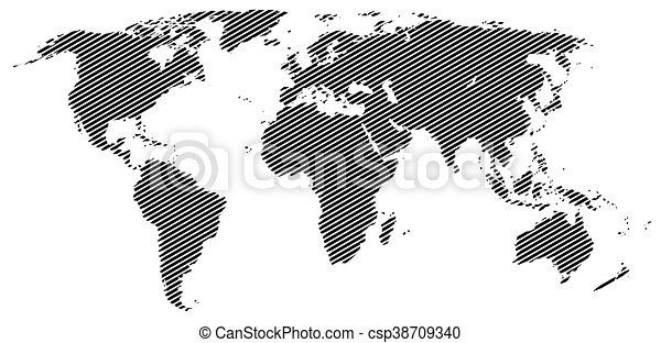 Vector halftone world map continents for your design eps eps vector halftone world map continents for your design gumiabroncs Images