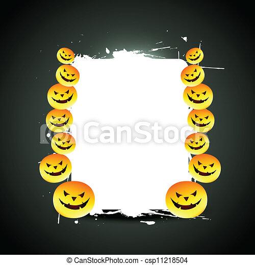 vector halloween design - csp11218504