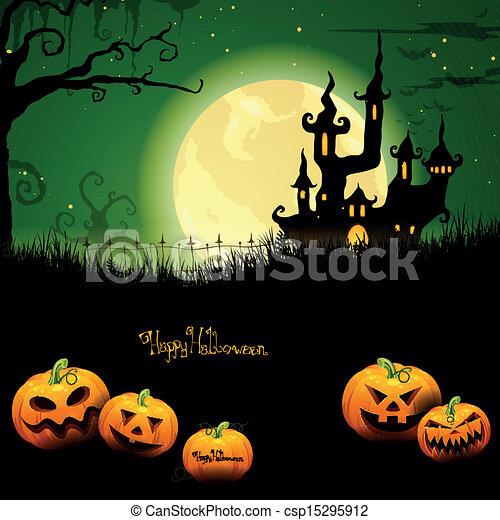 Vector Halloween antecedentes - csp15295912
