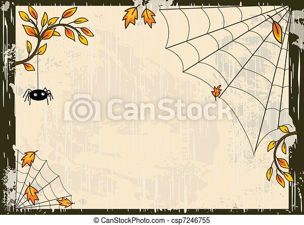 Vector Halloween antecedentes - csp7246755