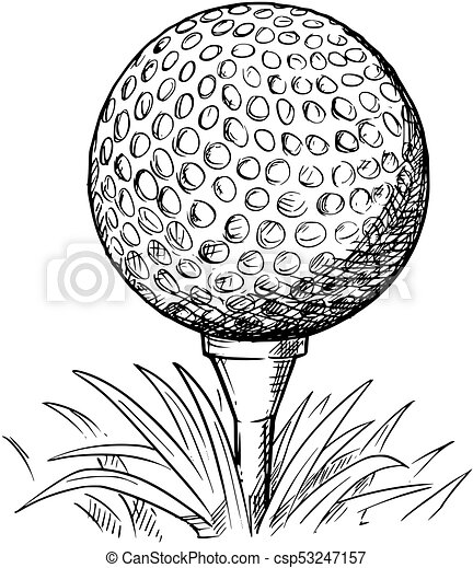 how to draw a line on a golf ball