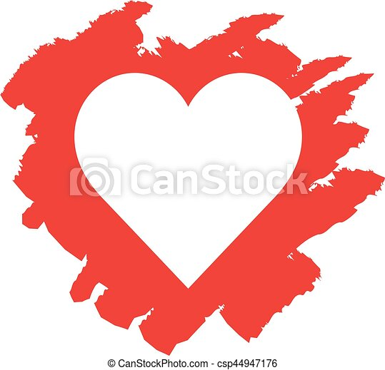 vector hand drawn red heart vectors illustration search clipart rh canstockphoto com heart vector free download heart vector graphic