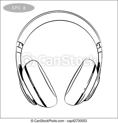 Earphones Clip Art
