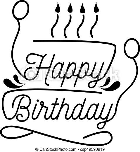 vector happy birthday happy birthday vector clip art search rh canstockphoto co uk birthday vector art free download birthday cake vector art