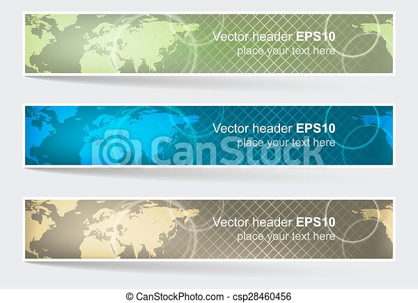 Vector header or banner world map background editable clipart vector header or banner world map background gumiabroncs Images