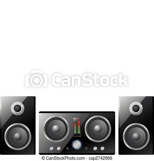 Volume Noir Et Blanc Icône Avec Long Shadow Vecteurs libres de droits et  plus d'images vectorielles de Bruit - iStock