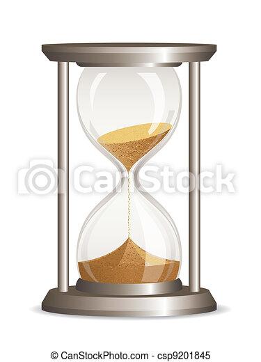 Vector hourglass  - csp9201845