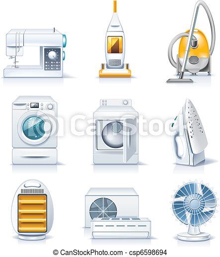 Vector household appliances. P.4 - csp6598694