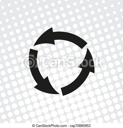 vector icon arrow circle - csp70880953