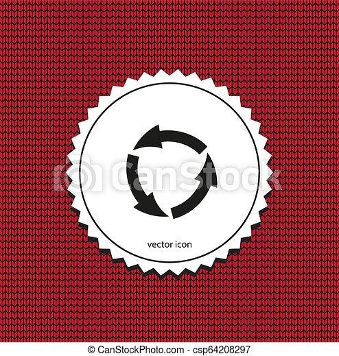 vector icon arrow circle - csp64208297