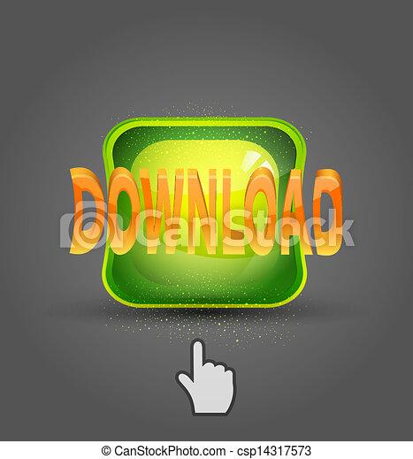 vector icon download and cursor - csp14317573