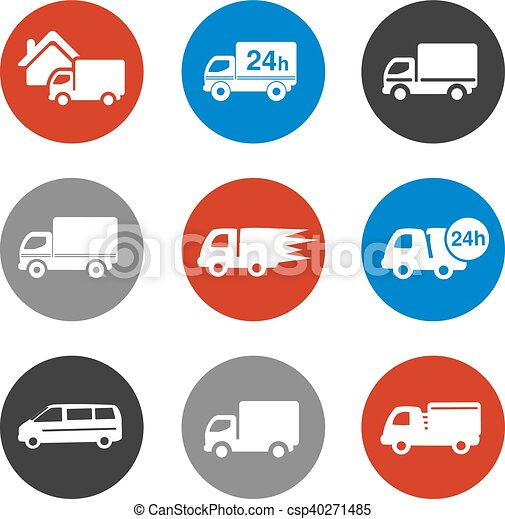Vector Icons Delivery Method Free Delivery And Quick Delivery