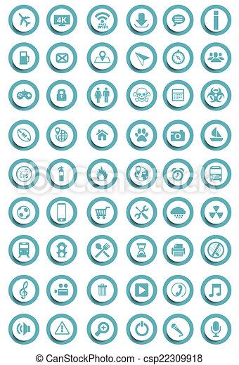 Vector icons - csp22309918