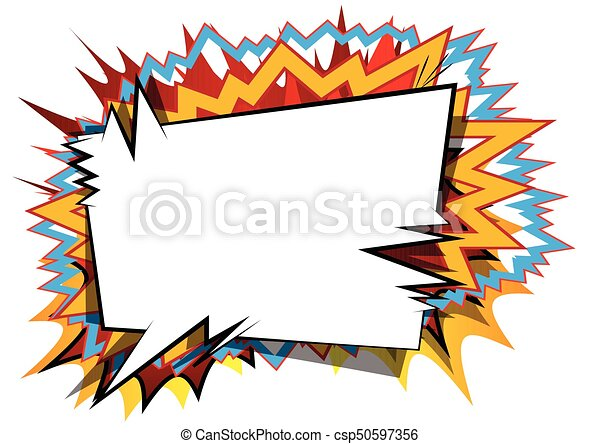 vector illustrated comic book style background vector clipart rh canstockphoto com comic book vector template comic book vector art free