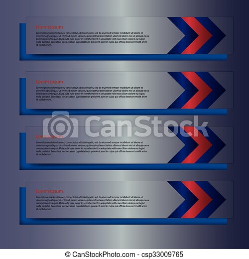 Vector illustration background with rectangles - csp33009765