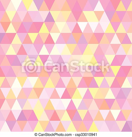Vector illustration of a background with triangles - csp33010941