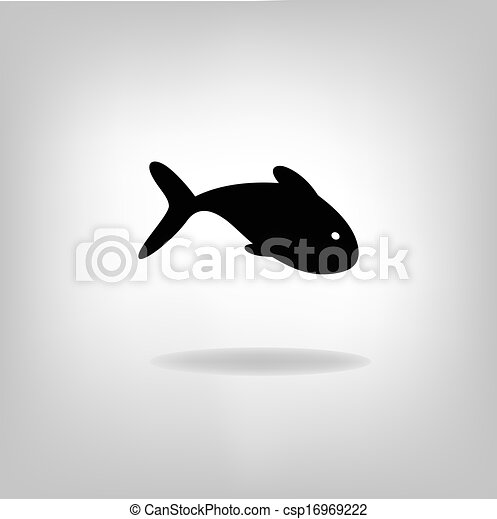 Vector illustration of a fish - csp16969222