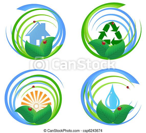 Эмблема экологии своими руками 66