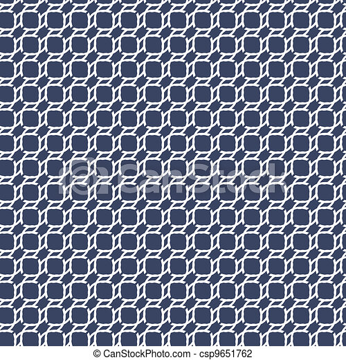 Vector illustration of an abstract geometrical seamless pattern.  - csp9651762
