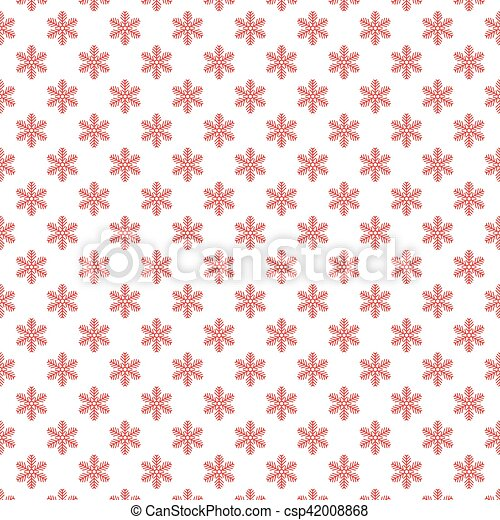 Vector illustration of Background with snowflakes - csp42008868