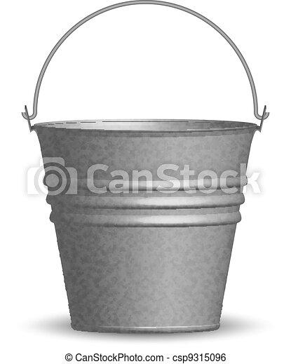 Vector illustration of bucket - csp9315096