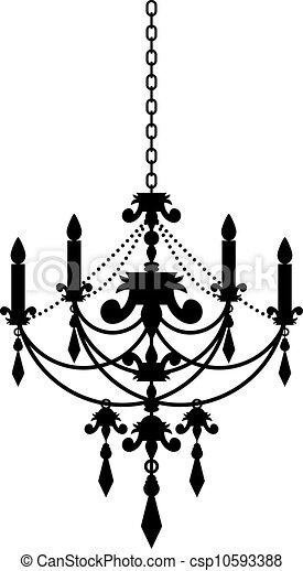Vector illustration of chandelier vector search clip art vector illustration of chandelier aloadofball Gallery