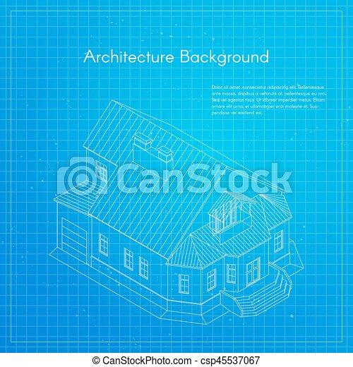 Vector illustration of city building blueprint architectural vector illustration of city building blueprint malvernweather Gallery