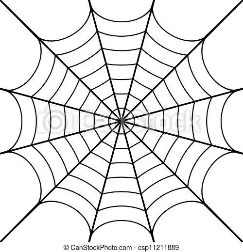 Vector illustration of cobweb - csp11211889