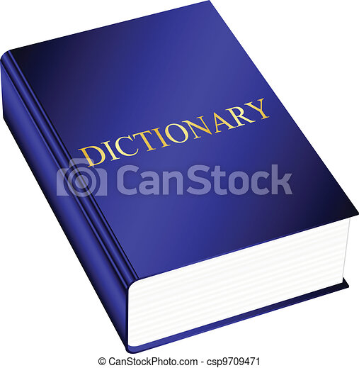 Vector illustration of dictionary - csp9709471