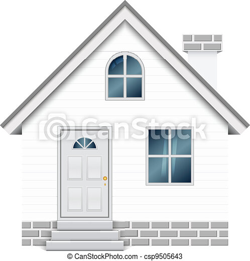 Vector illustration of house - csp9505643