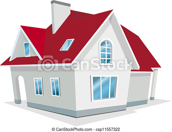 Vector Illustration of house - csp11557322